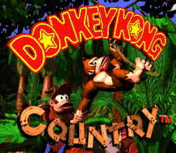Donkey Kong Country. Super Nintendo