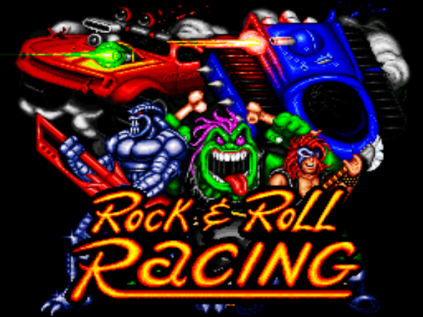 Rock and Roll Racing. Super Nintendo